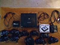 Sega Saturn with 10 controllers!