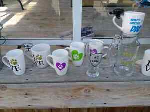 Custom mugs, glasses, and pails. Custom gifts London Ontario image 2