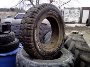 700x15 forklift tire. Used.