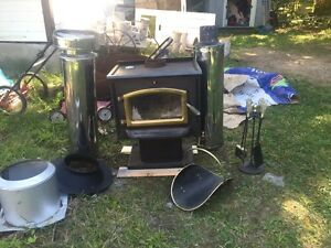 Wood burning stove great for hunt camp, cottage shed or garage  Peterborough Peterborough Area image 1