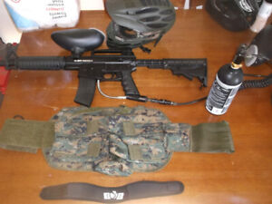 BT Omega Paintball Package