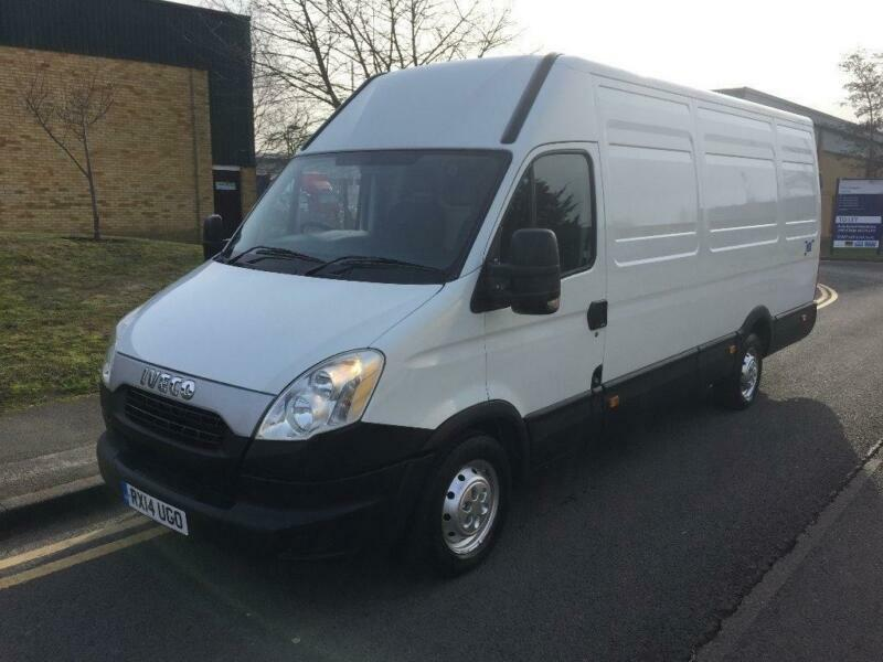 38f04918e04e53 2014 Iveco Daily 35S21 LWB Panel Van with Tail Lift Manual Panel ...