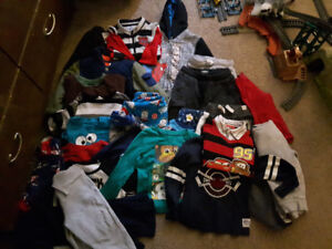 Toddler Boys Clothes- size 2T/3T.