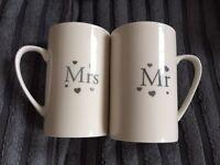 Mr & Mrs cups