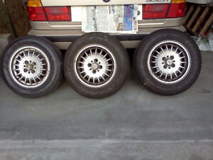 1989 325i BMW M&S Tires + Rims