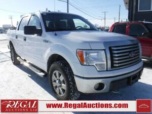 2011 Ford F150  4DR TRUCK 4WD