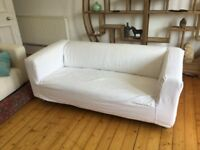 FREE Ikea KLIPPAN 2-seater with 2 covers