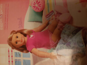 Authentic American Girl Sweetheart Pajamas and Charm