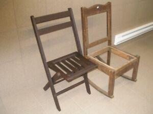 En Biens Pliante Bercante Vendez BoisAchetez Des Chaise Ou N80OXnPZwk