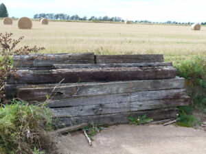 Old Railway Ties