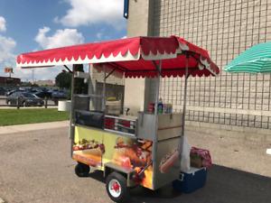 HOT DOG  cart - ONE OF A KIND!!!