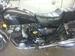 1983 Honda CB1000 Custom,10speed,all stock,
