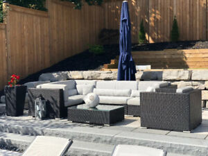 * PATIO FURNITURE SALE * OVER 60% OFF * - MADE WITH SUNBRELLA