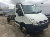 2012 12 REG IVECO DAILY 2.3TD CHASSIS CAB / RECOVERY TRUCK / TIPPER TRUCK