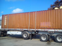 CONTAINERS FOR SALE OR RENT