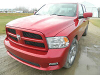 CASH ONLY REDUCED!!!!!!!2010 Dodge 1500 4X4 CREWCAB