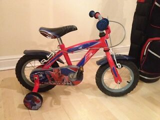 Kids 12inch Spider-Man bike