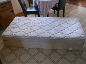 Single mattress and box spring/ can deliver