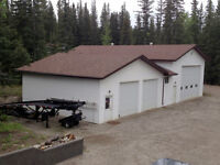 For Rent -House and Large Shop - Hinton