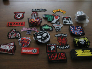 Patches - Rock bands, etc.