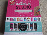 klutz-- nail art book--brand new!!!!