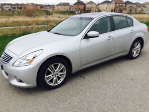 2010 Infiniti G37X AWD —. low km