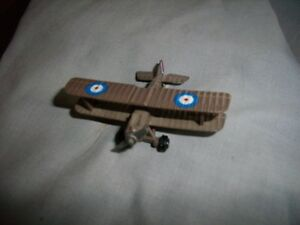 Bristol Bulldog single-seat toy biplane