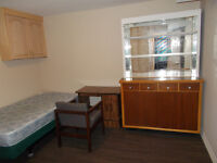 2 bedrooms with a private kitchen, washroom, separate entrance