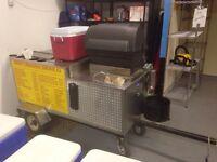 Hotdog cart for rent  Hot dog training available