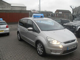 Ford S-MAX 1.8TDCi ( 125ps ) 6sp 2007 Zetec. 7 SEATER