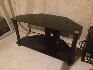 Glass tv stand for 40""