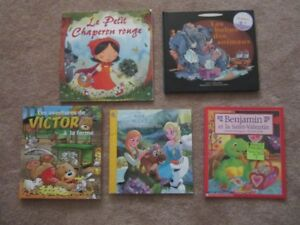 Set of 7 French Picture/Story Books