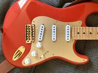 Fender Stratocaster (partcaster) beautiful Birdseye maple neck. Stunning with top quality parts