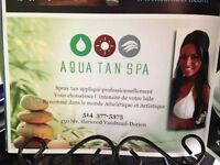 SPRAY TAN west island - at AquaTan Spa
