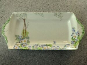 Paragon Bone China Sandwich Tray Plate ~ H.M. The Queen