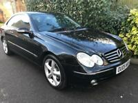 MERCEDES CLK CLK240 AVANTGARDE 2005 Petrol Automatic in Black
