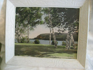 Early Vintage Hand Tinted Photograph F O MacLeod Cape Smokey