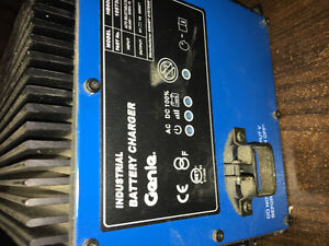 Genie battery charger