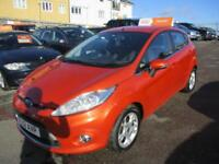 2012 Ford Fiesta Hatch 5Dr 1.25 82 Zetec 5 Petrol red Manual