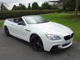 BMW 6 SERIES 640D M SPORT CONVERTIBLE [START/STOP] 2012/12
