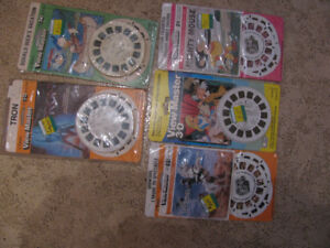 Comic View Master Reel Sets Tron etc..