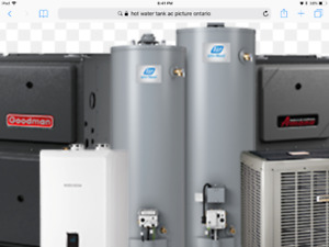 Hot water Tank installation in cheaper prices