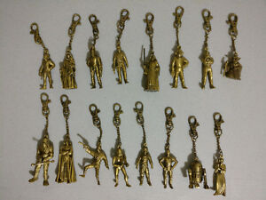 Star Wars Characters - Plano Brass Keychains