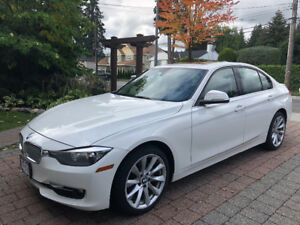2014 White BMW XDrive 320i, Low Km's & Warranty until 2021