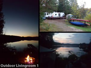 40-foot Wildwood Trailer for sale w/lakeside lot lease