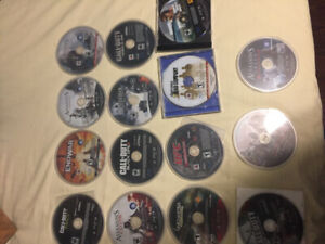 15 ps3 games great condition