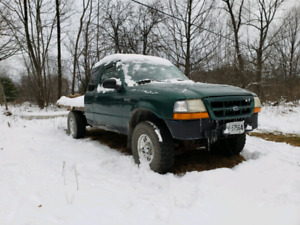 Ford ranger flat bed 4wd 4.0l