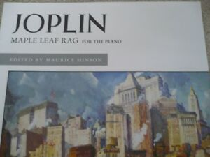 Joplin Maple Leaf Rag for the Piano - Alfred Masterwork Edition