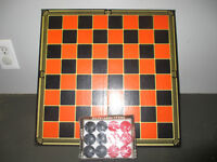 Checkers and Checker Game