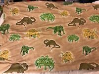 Romans blackout blind in dinosaur fabric